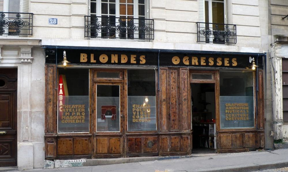 photo Blondes Ogresses Montmartre
